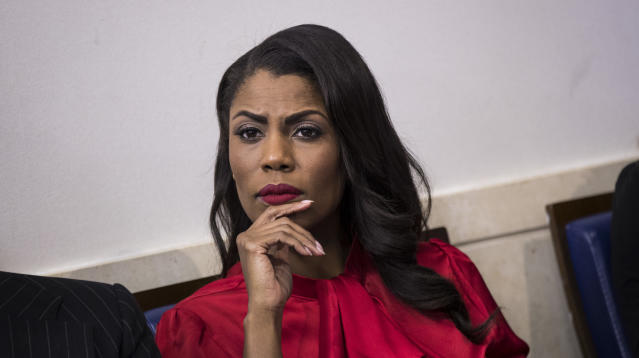 White House spokesman Raj Shah dismissed former aide Omarosa Manigault Newman's recent disparaging comments about President Donald Trump, telling reporters during a Thursday press conference that she was forced out of the role.