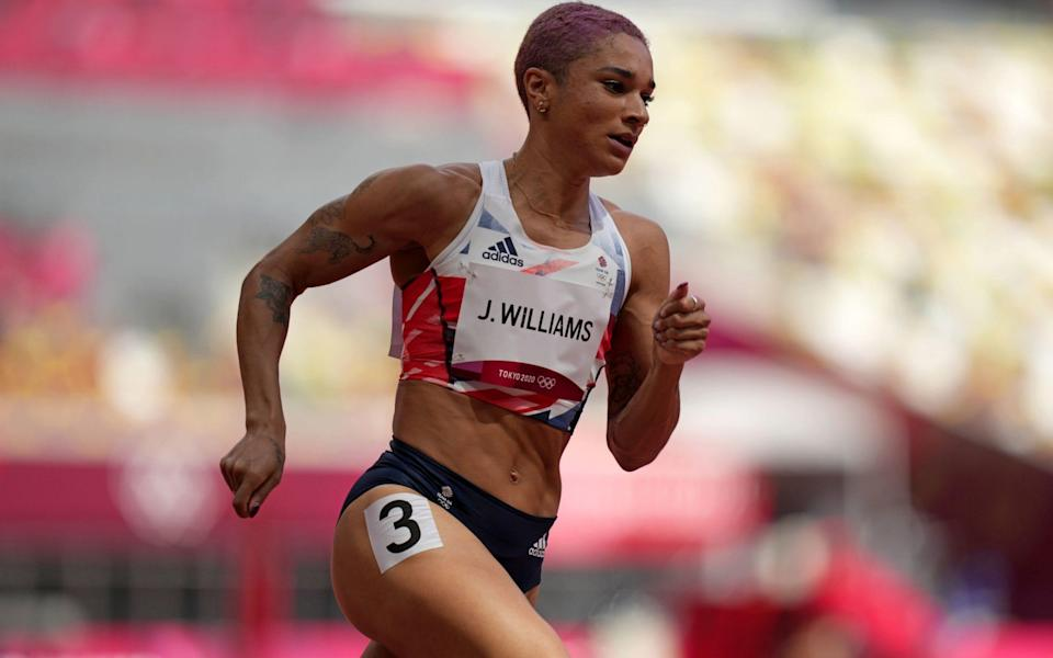 Jodie Williams has made it through to the women's 400m final - PA