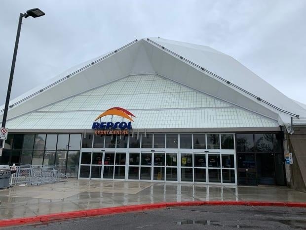 The Repsol Sport Centre is looking to add new facilities after city council voted unanimously to dedicate $45 million to an expansion of the facility. (Mike Symington/CBC - image credit)