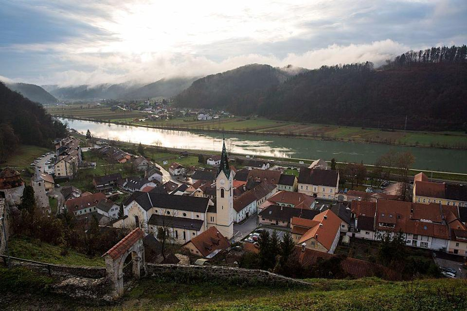 """<p>The first lady was born in Sevnica, a small town with about 5,000 residents that's an hour's drive from Ljubljana, the Slovenian capital. During Melania's childhood, Slovenia was known as Yugoslavia and was under the rule of Communist President Josip Tito. The Knavses reportedly """"still own their house [in Sevnica] and visit two or three times a year,"""" according to <em>GQ</em>.</p>"""