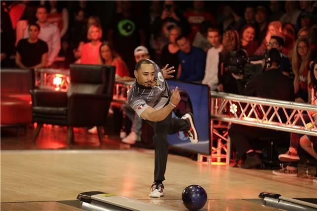 Mookie Betts isn't just a recreational bowler. He's competed in three PBA events. (Courtesy of the PBA)