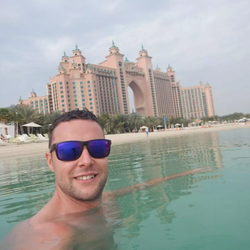 <strong>Jamie Harron reportedly faces three years in Dubai prison </strong>