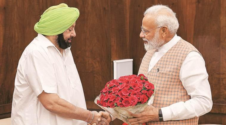 Convene all-party meet under PM s chairmanship to tackle water crisis: Amarinder Singh