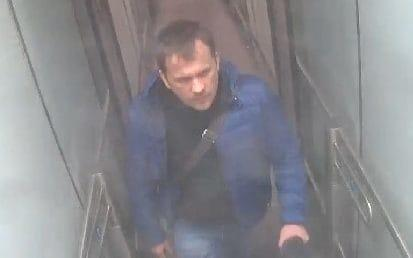 Petrov at Gatwick airport, pictured at 3pm on March 2 - Credit: Metropolitan Police