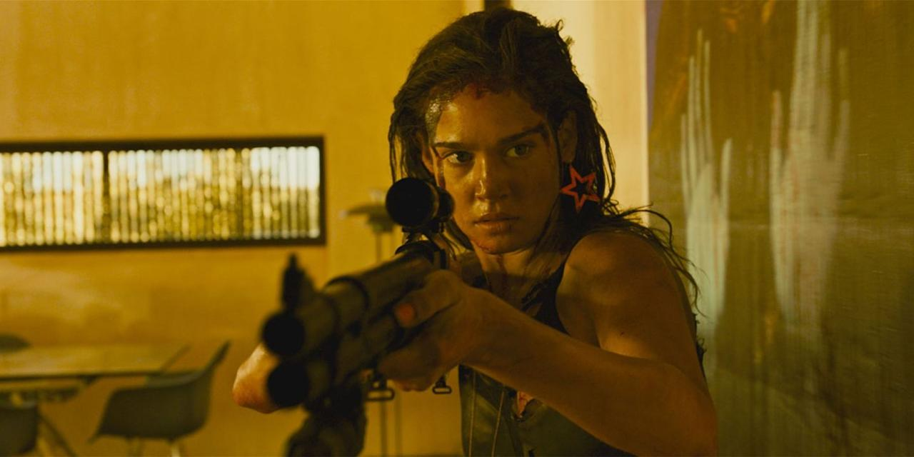 """<p>Parisian filmmaker Coralie Fargeat rips the rape thriller from the clutches of its male-dominated hordes and transforms it into a stylized hell ride saturated in neon and the blood of her protagonist's victims. Rather than play into the exploitation tropes and traps the genre all too often falls into, Fargeat takes her leading lady, Matilda Lutz, on a grindhouse killing spree through the desert of an unnamed country—all while channeling not the male, but the female gaze. </p><p>Stream on amazon.com, free with Shudder subscription for $5 per month, $3 to rent, $10 to own. <a class=""""body-btn-link"""" href=""""https://www.amazon.com/Revenge-Matilda-Lutz/dp/B07C7RHJ83?tag=syn-yahoo-20&ascsubtag=%5Bartid%7C10056.g.19037519%5Bsrc%7Cyahoo-us"""" target=""""_blank"""">WATCH</a></p>"""