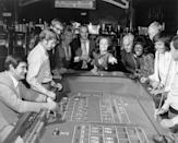 <p>From card games to charades, parlor games after dinner were a common pastime.</p>