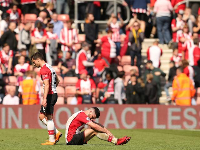 Long punished for their own success, sleepwalking Southampton are now staring into the relegation abyss