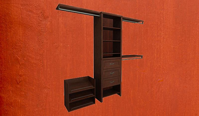 If you prefer drawers, this system has three of them. (Photo: Home Depot)