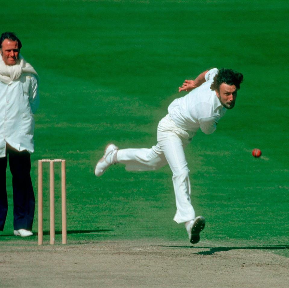 In action for England in the third Test against India, at Headingley in 1979 - Patrick Eagar/Popperfoto via Getty Images