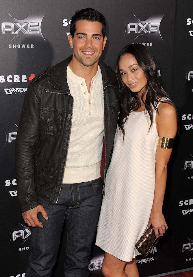 """Also in attendance ... former """"Desperate Housewives"""" hunk, <a href=""""http://movies.yahoo.com/movie/contributor/1804485939"""">Jesse Metcalfe</a>, who arrived with a pretty guest."""