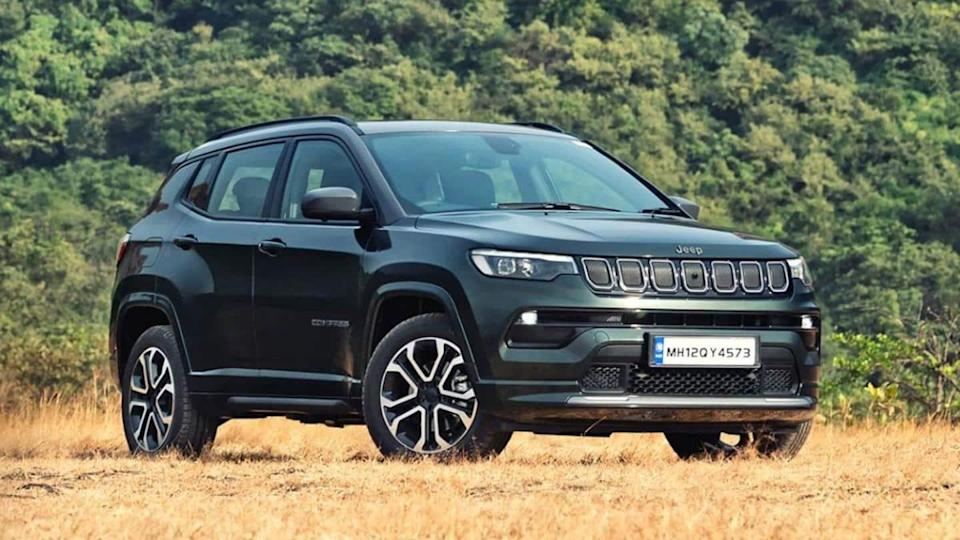 Ahead of launch, variant details of Jeep Compass (facelift) leaked