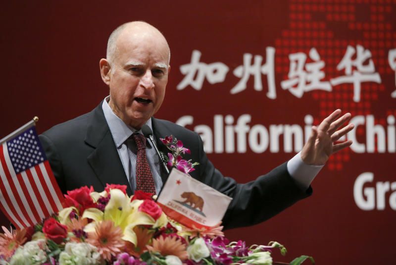 Brown chooses private donors to pay for China trip