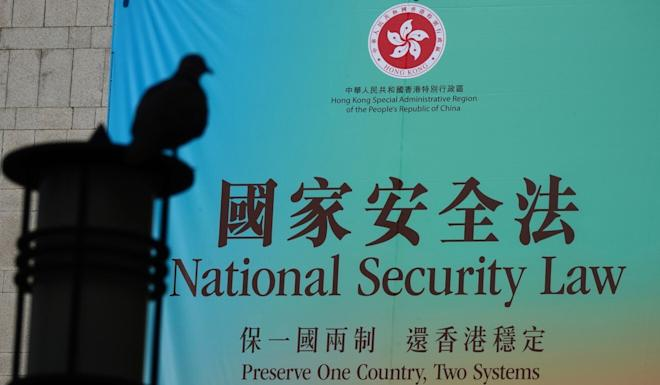 The national security law came into force at the end of last month. Photo: Sam Tsang