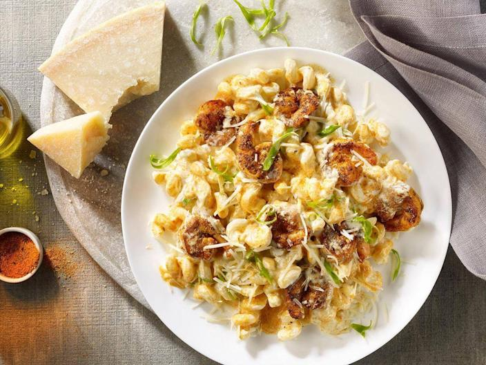 <p>Maggiano's should be higher on everyone's list because it has some of the most memorable pasta entrees out there. The absolute best is probably the Shrimp Cavatappi complete with parmesan cream sauce sprinkled with green onions and shredded cheese.</p>