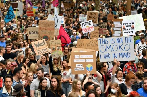 Police estimated the crowd size at a climate protest in Sydney at 15,000, organisers put the figure at 20,000