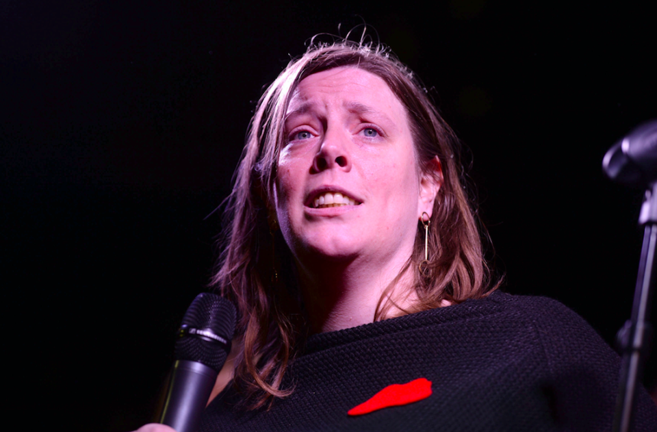 <em>Jess Phillips said she had received 600 rape threats in one night (PA)</em>