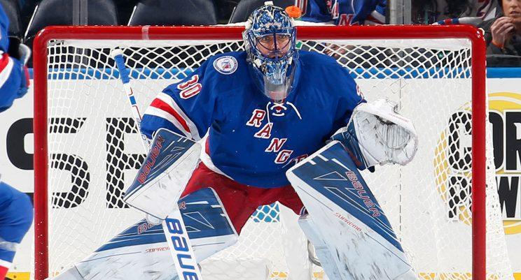 It's been a disappointing season for Rangers goaltender Henrik Lundqvist. (Jared Silber/Getty Images)