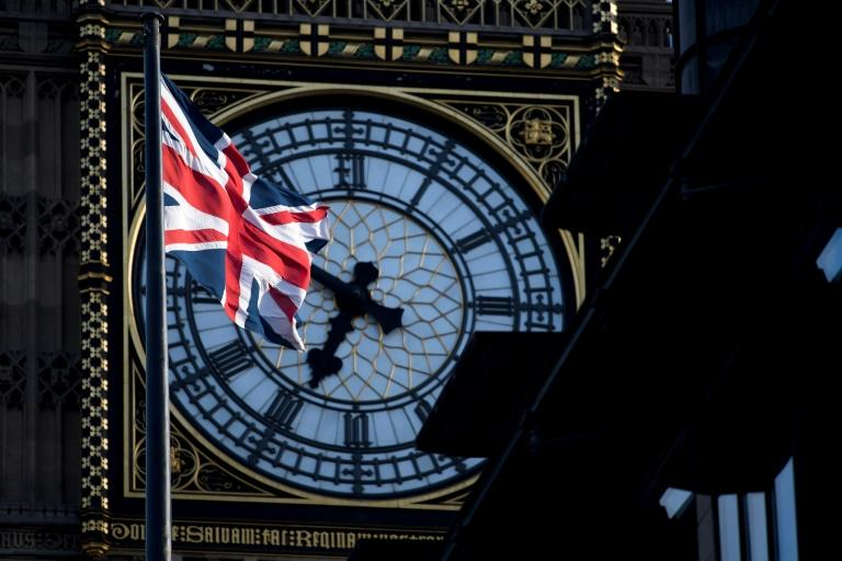A Union flag flies near the Houses of Parliament in London. Parliament is to vote Wednesday on holding a snap election in June, as Prime Minister Theresa May seeks to make strong gains against the opposition ahead of gruelling Brexit negotiations