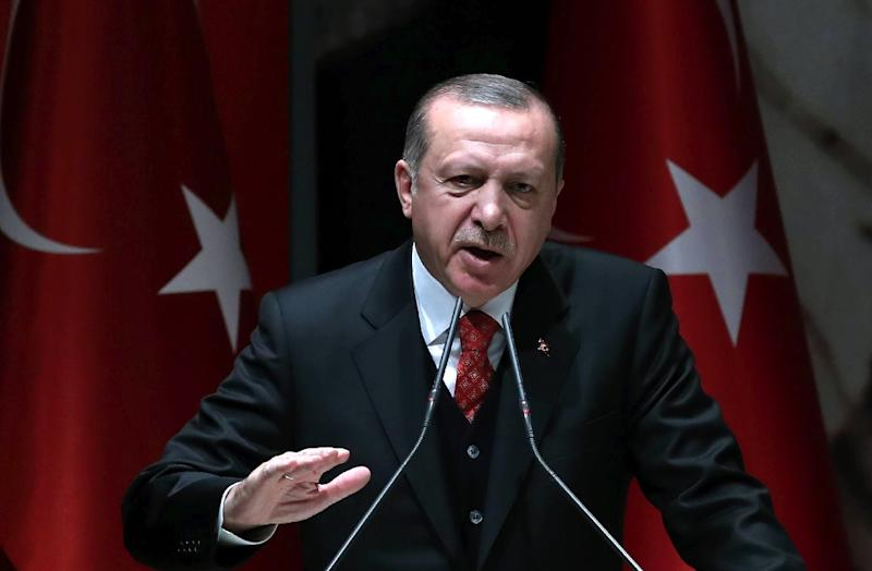 "Turkish President Recep Tayyip Erdogan has described the Zarrab trial in the United States as an ""attempt at blackmail"""