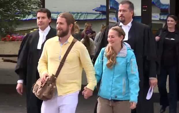 David and Collet Stephan are set to go on trial a third time in connection with the 2012 death of their toddler. (Vincent Bonnay/Radio-Canada/CBC - image credit)
