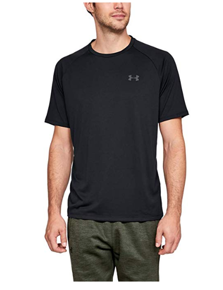 Under Armour Men's Tech 2.0 Short Sleeve T-Shirt. Image via Amazon.