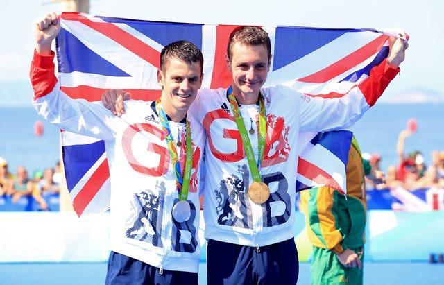 Alistair (right) and Jonny Brownlee won gold and silver medals in Rio
