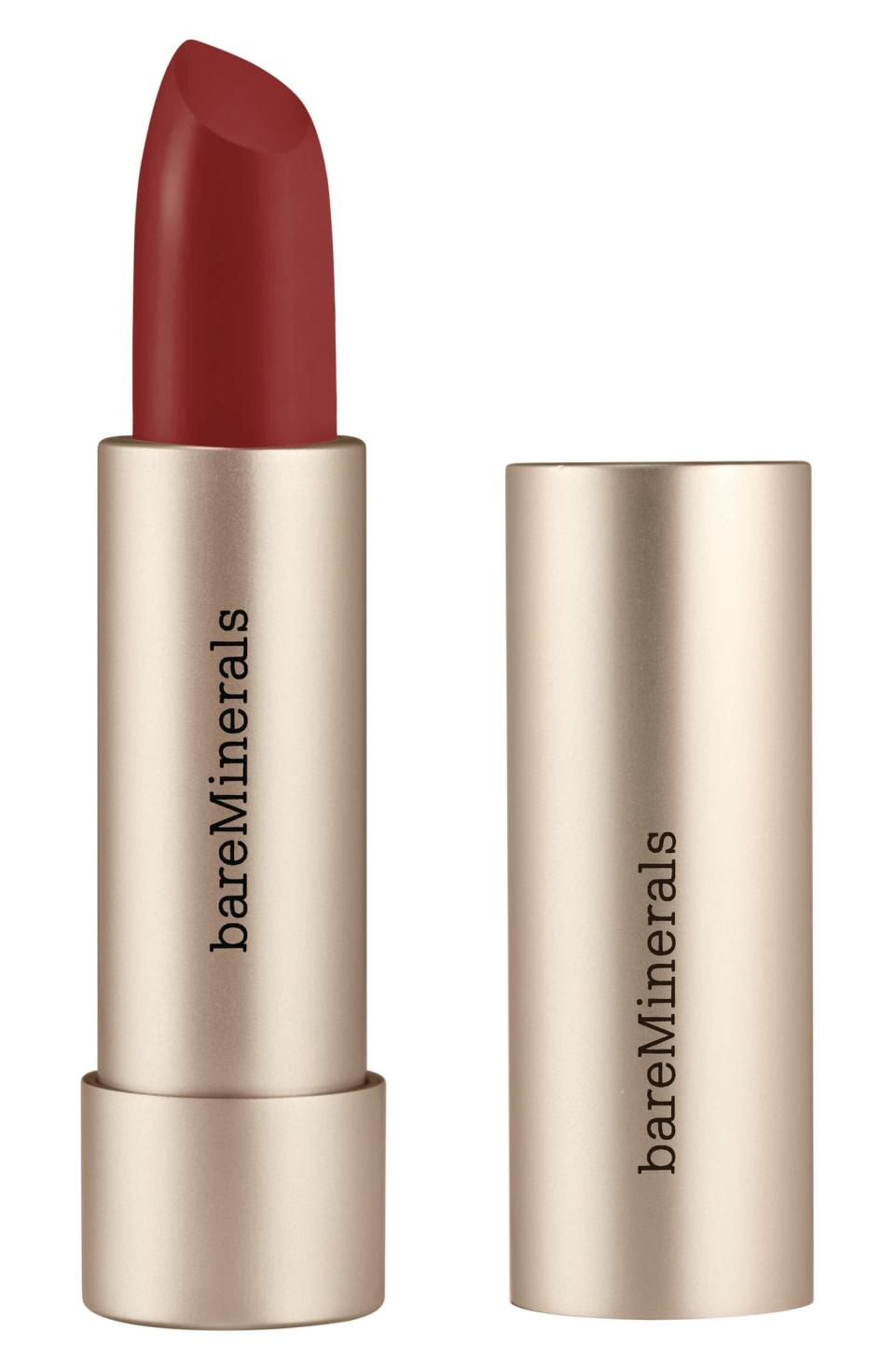 <p>Keep your lips hydrated with the mineral-infused <span>Bareminerals Mineralist Lipstick</span> ($20). It comes in 25 gorgeous shades. </p>