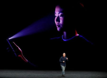 FILE PHOTO: Apple's Schiller introduces the iPhone x during a launch event in Cupertino