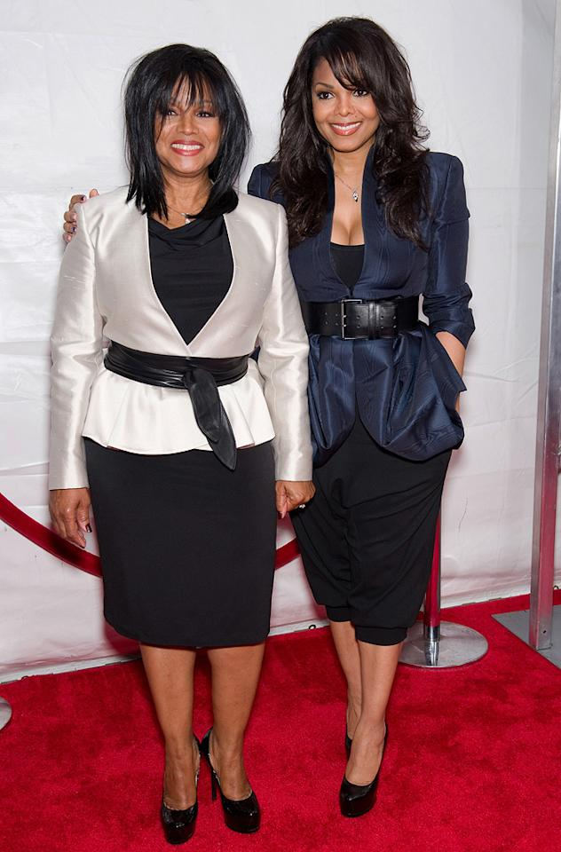 "Rebbie Jackson and <a href=""http://movies.yahoo.com/movie/contributor/1800082644"">Janet Jackson</a> at the New York City premiere of <a href=""http://movies.yahoo.com/movie/1810073266/info"">Tyler Perry's Why Did I Get Married Too?</a> - 03/22/2010"