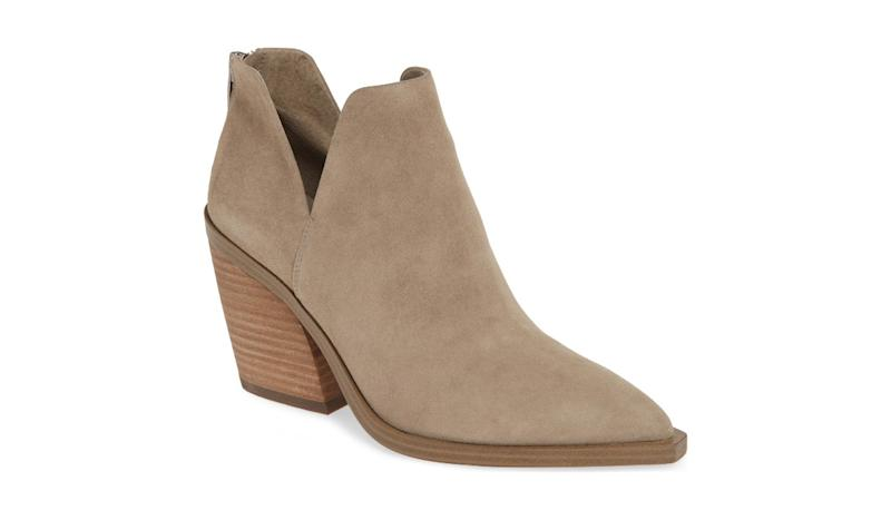 Quietly chic, these booties are that pair you'll wish you'd bought in more than one color. (Photo: Nordstrom)