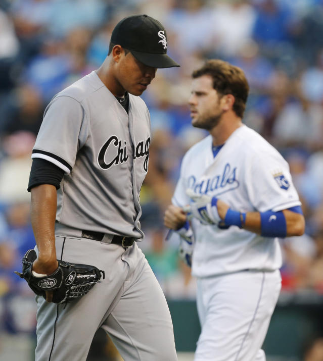 Gillaspie lifts White Sox over Royals, 4-3 in 12