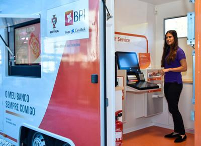 BPI bank's new self-service counter solution automates transactions and addresses shifting consumer behavior and demands around the clock.