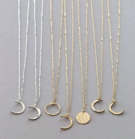 """<a href=""""https://www.etsy.com/listing/479687322/dainty-moon-phase-necklaces-simple-moon"""" target=""""_blank"""">Shop them here</a>."""