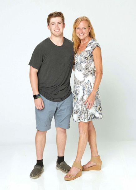 PHOTO: Danny Soulas pictured with his mother Katy Soulas in 2021. (ABC)
