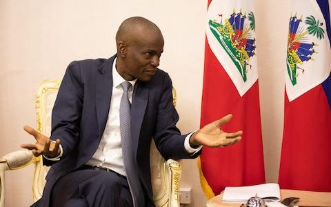 Jovenel Moise finds himself with no prime minister and no government - Credit: James Breeden for The Daily Telegraph