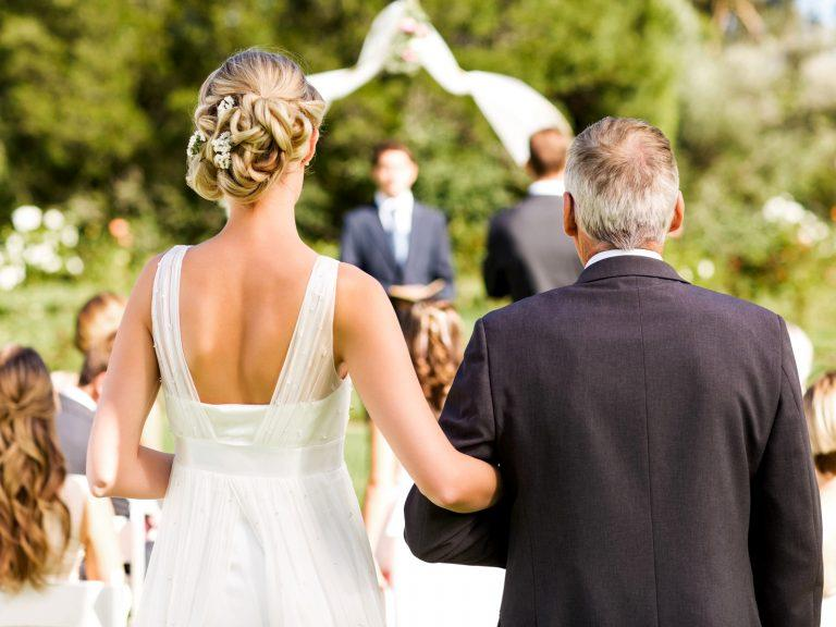 Police Officer Steps In For Father Of The Bride Who Was