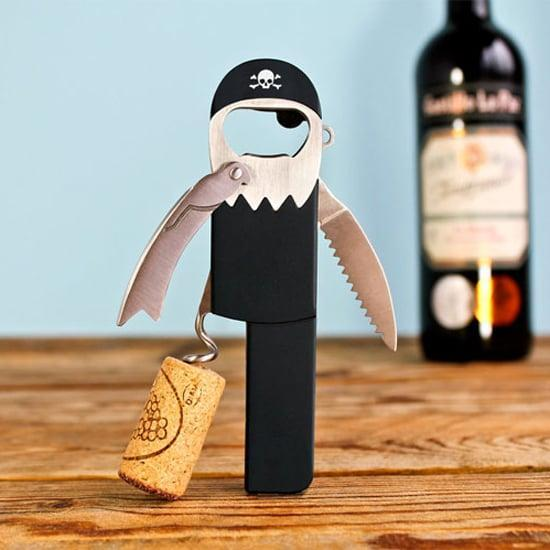 <p>Arrr! This <span>pirate corkscrew</span> ($13) is perfect for a matey who is obsessed with wine. </p>