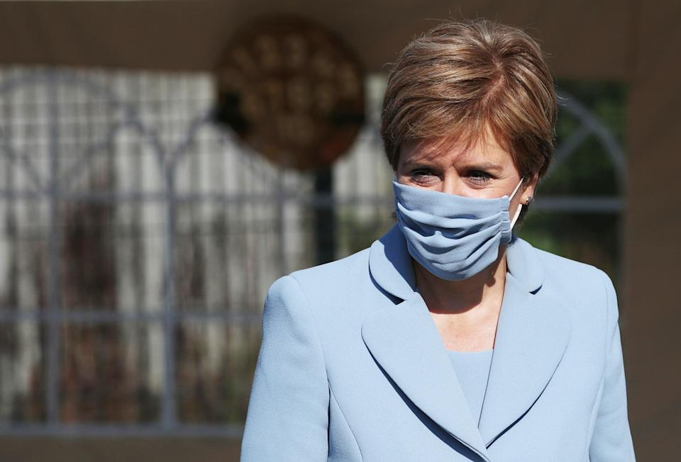 First Minister Nicola Sturgeon insisted she did not feel 'snubbed' after Boris Johnson turned down her invitation to talks. (Russell Cheyne/PA)