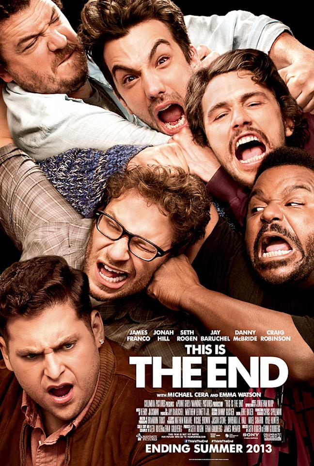 """Poster for Sony Pictures' """"This is the End"""" - 2013"""