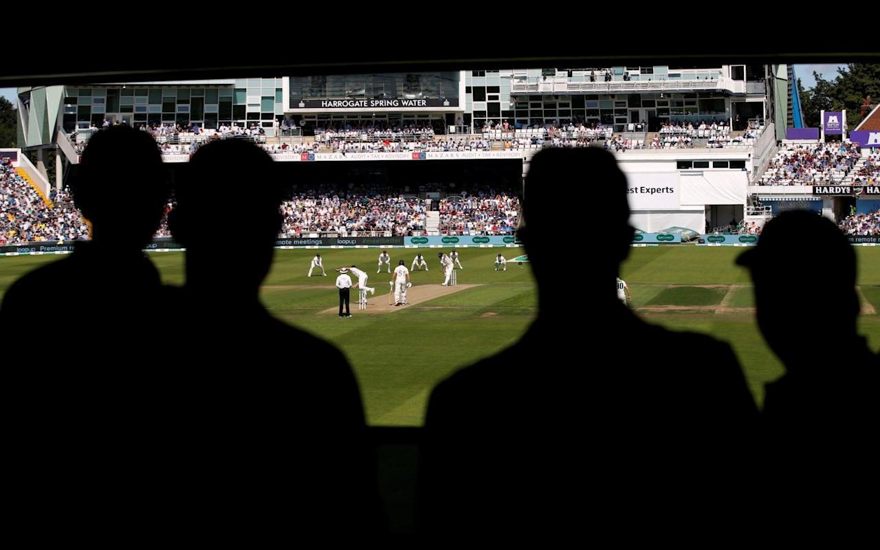 On the first day at Headingley, 40,000 pints of beer were reportedly bought at the 18,000 capacity stadium - Action Images via Reuters