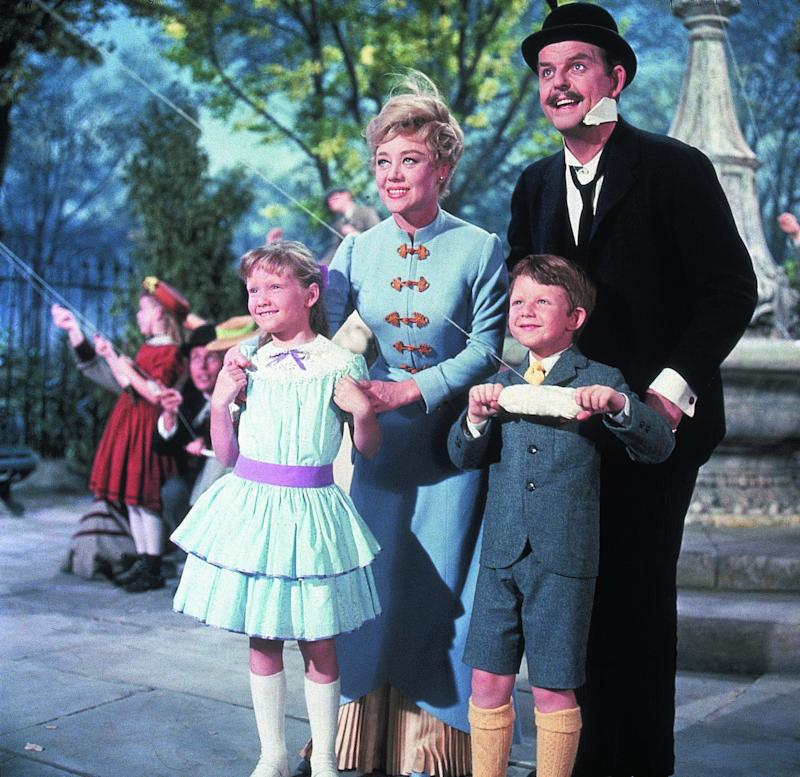 The original Banks family in 'Mary Poppins' (Credit: Disney)