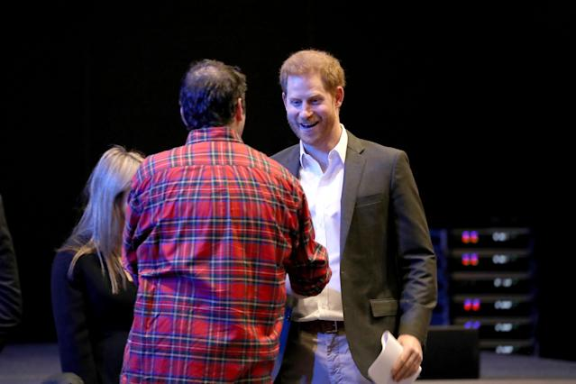 The Duke of Sussex during a sustainable tourism summit in Edinburgh. (Press Association)