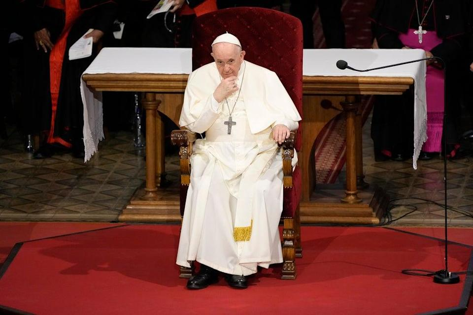 Vatican Conservatives (Copyright 2021 The Associated Press. All rights reserved.)