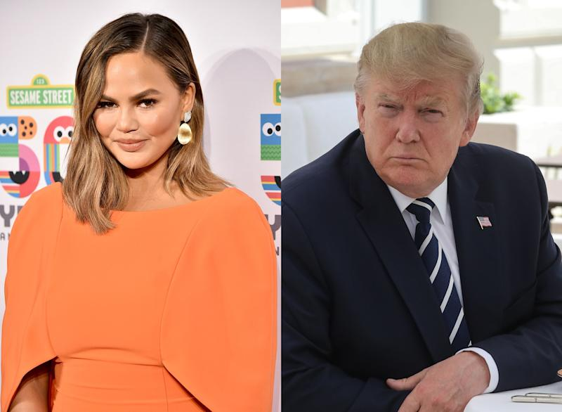 Why Are Chrissy Teigen and Donald Trump Twitter Feuding Again?