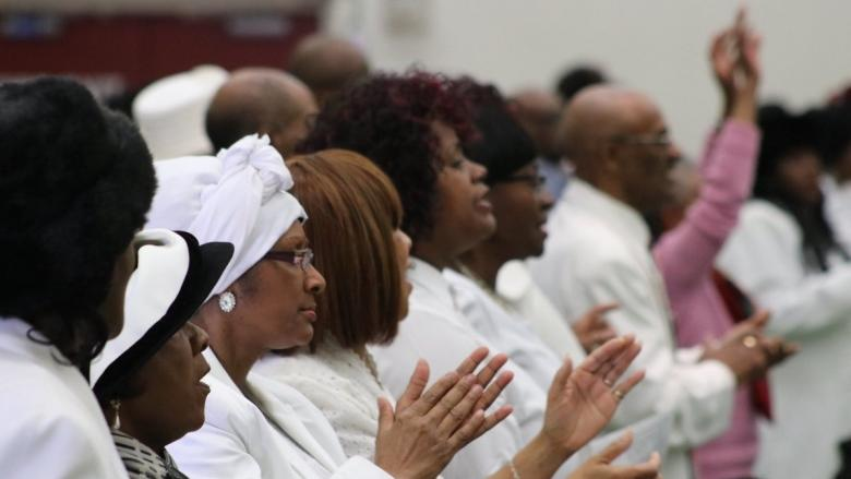 Healing service held in North Preston after church fire