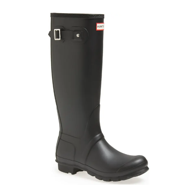 Hunter Original Tall Waterproof Rain Boot. Image via Nordstrom.
