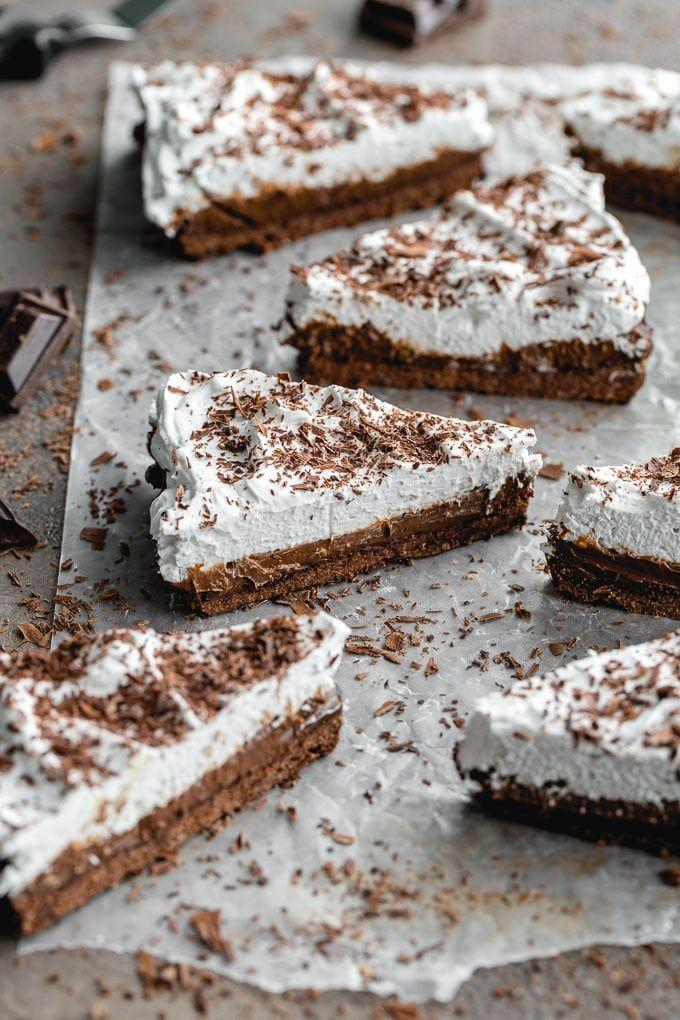 """<p>A spiked chocolate dessert is just what you need this St. Patrick's Day. It's also totally vegan!</p><p><strong>Get the recipe at <a href=""""https://www.crumbtopbaking.com/dark-chocolate-irish-whiskey-tart/"""" rel=""""nofollow noopener"""" target=""""_blank"""" data-ylk=""""slk:Crumb Top Baking"""" class=""""link rapid-noclick-resp"""">Crumb Top Baking</a>.</strong></p><p><strong><a class=""""link rapid-noclick-resp"""" href=""""https://go.redirectingat.com?id=74968X1596630&url=https%3A%2F%2Fwww.walmart.com%2Fsearch%2F%3Fquery%3Drectangular%2Btart%2Bpan&sref=https%3A%2F%2Fwww.thepioneerwoman.com%2Ffood-cooking%2Fmeals-menus%2Fg35269814%2Fst-patricks-day-desserts%2F"""" rel=""""nofollow noopener"""" target=""""_blank"""" data-ylk=""""slk:SHOP RECTANGULAR TART PANS"""">SHOP RECTANGULAR TART PANS</a></strong><strong><br></strong></p>"""