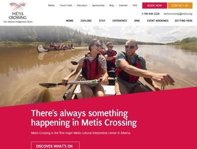 Métis Crossing is the first major Métis cultural interpretive destination in Alberta and the premier destination for Alberta Métis cultural interpretation, education, gatherings and business development. (CNW Group/CIPR Communications Inc)