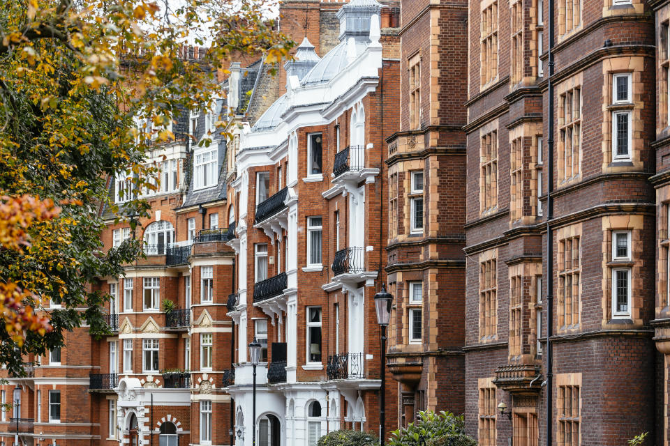 The UK housing market recorded £149bn worth of property sales in the first 15 weeks of 2021, almost double the value of homes sold in the same period in 2020 and 2019. Photo: Getty Images