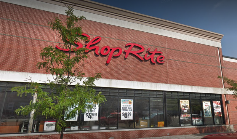A New Jersey woman who was allegedly shoplifting from a ShopRite in Bayonne shed her shirt in an attempt to evade police. (Photo: Google)